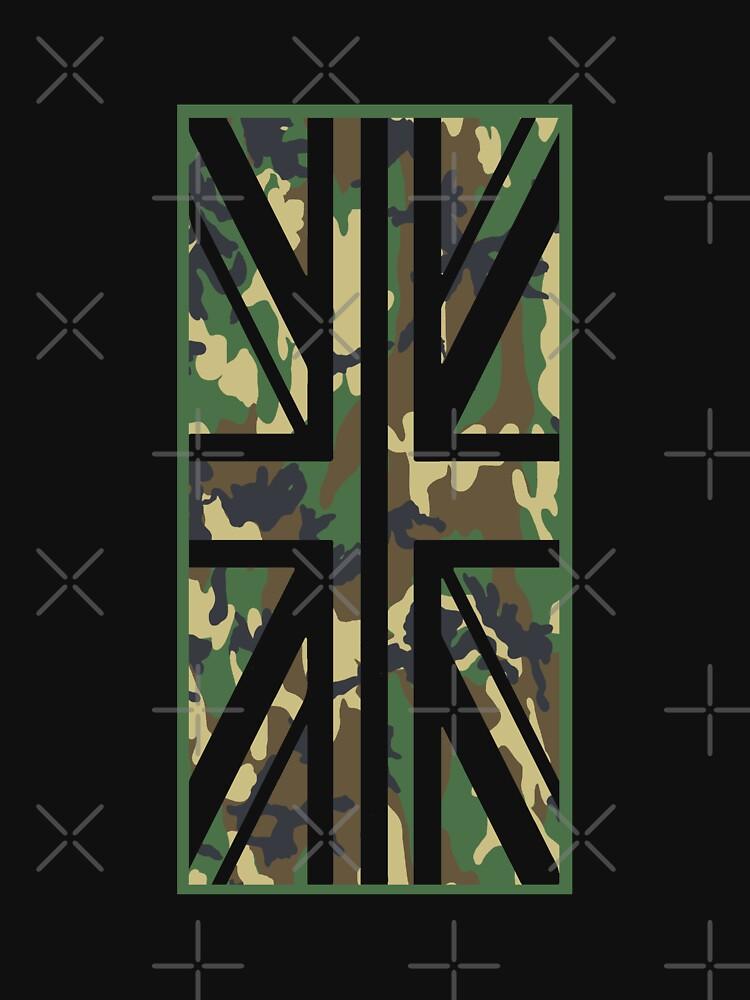 Union Jack Camo Flag Vertical by yoshi77