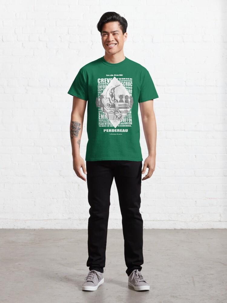 T-shirt classique ''Perdereau': autre vue