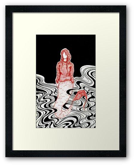 Dark Mermaid by Michelle Esbensen
