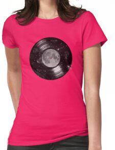 Galaxy Tunes Womens Fitted T-Shirt