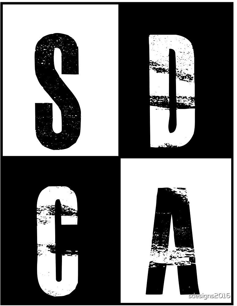 SDCA Logo by sdesigns2016