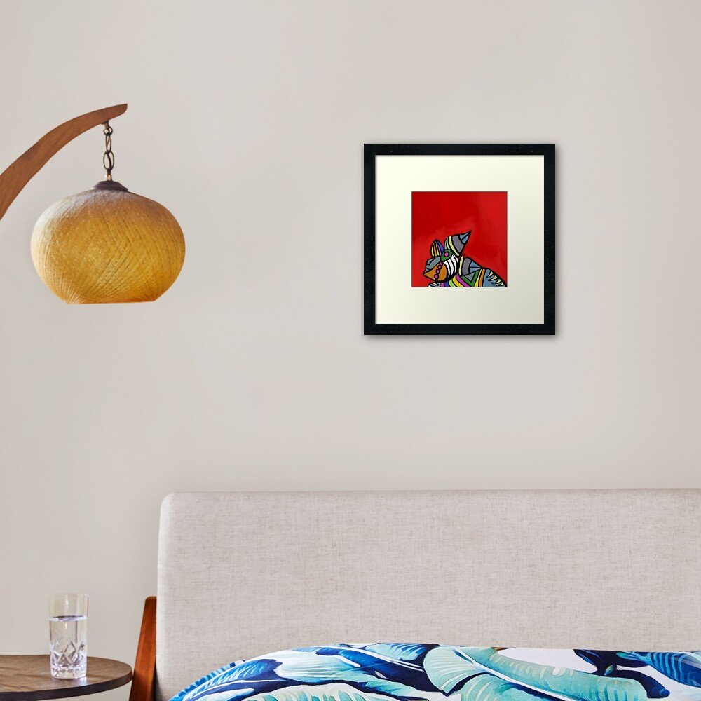 When bright colors are needed Framed Art Print