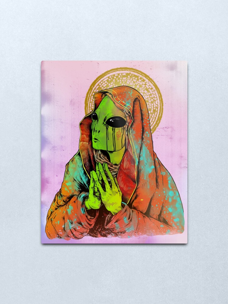 Alternate view of The Virgin Mother Metal Print