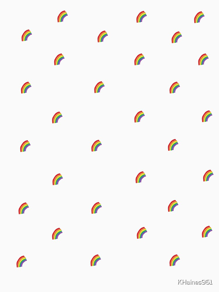 Small rainbow illustrated pattern by KHaines961