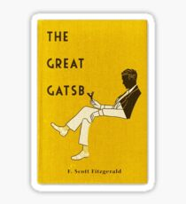 great gatsby Sticker