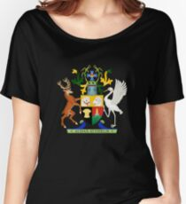Coat of Arms of Queensland, Australia Women's Relaxed Fit T-Shirt