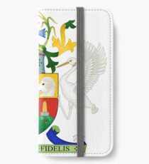 Coat of Arms of Queensland, Australia iPhone Wallet/Case/Skin