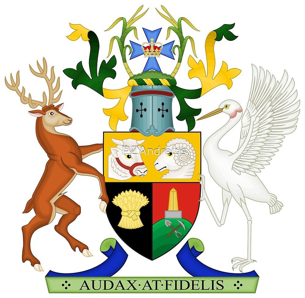 Coat of Arms of Queensland, Australia by PZAndrews