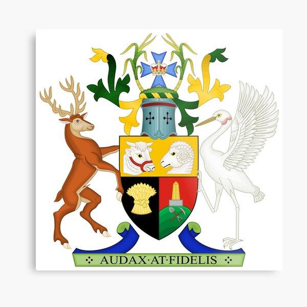 Coat of Arms of Queensland, Australia Metal Print