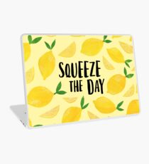 Squeeze the Day Laptop Skin