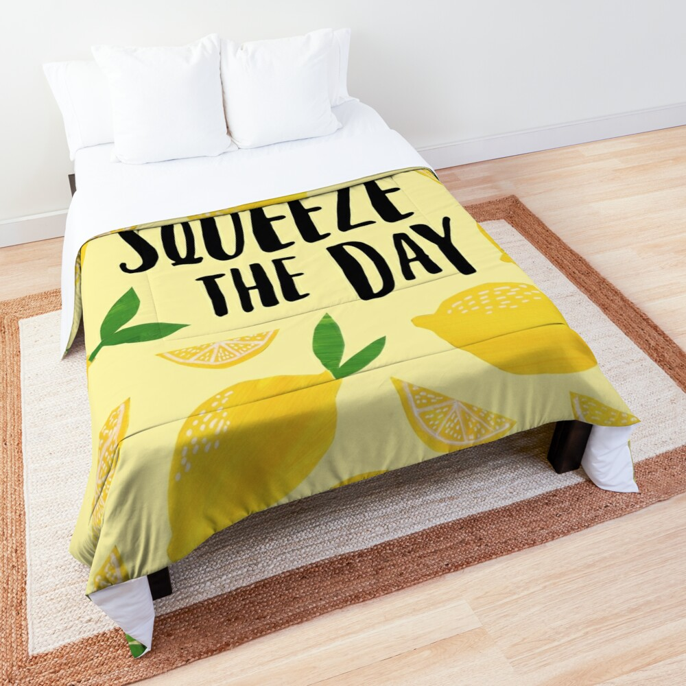 Squeeze the Day Comforter