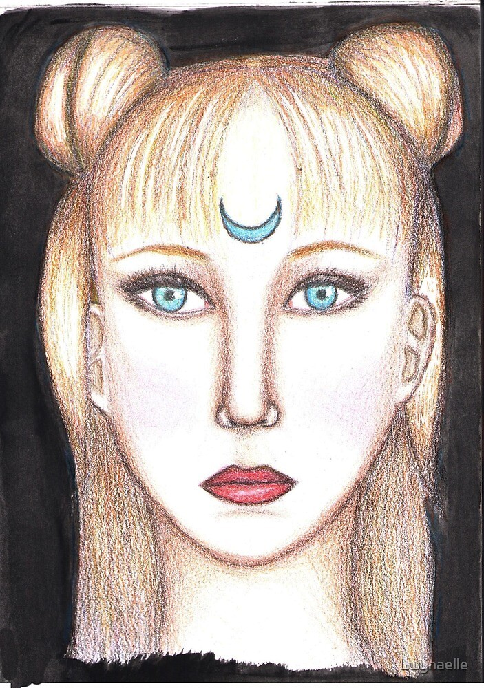 Moon princess by Lwynaelle