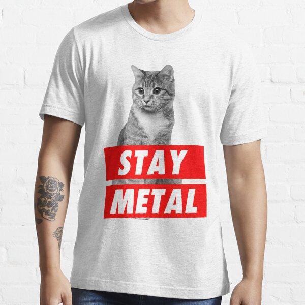 STAY METAL Essential T-Shirt
