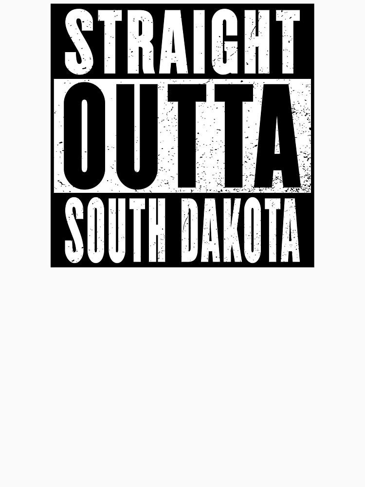 STRAIGHT OUTTA SOUTH DAKOTA by NotYourDesign