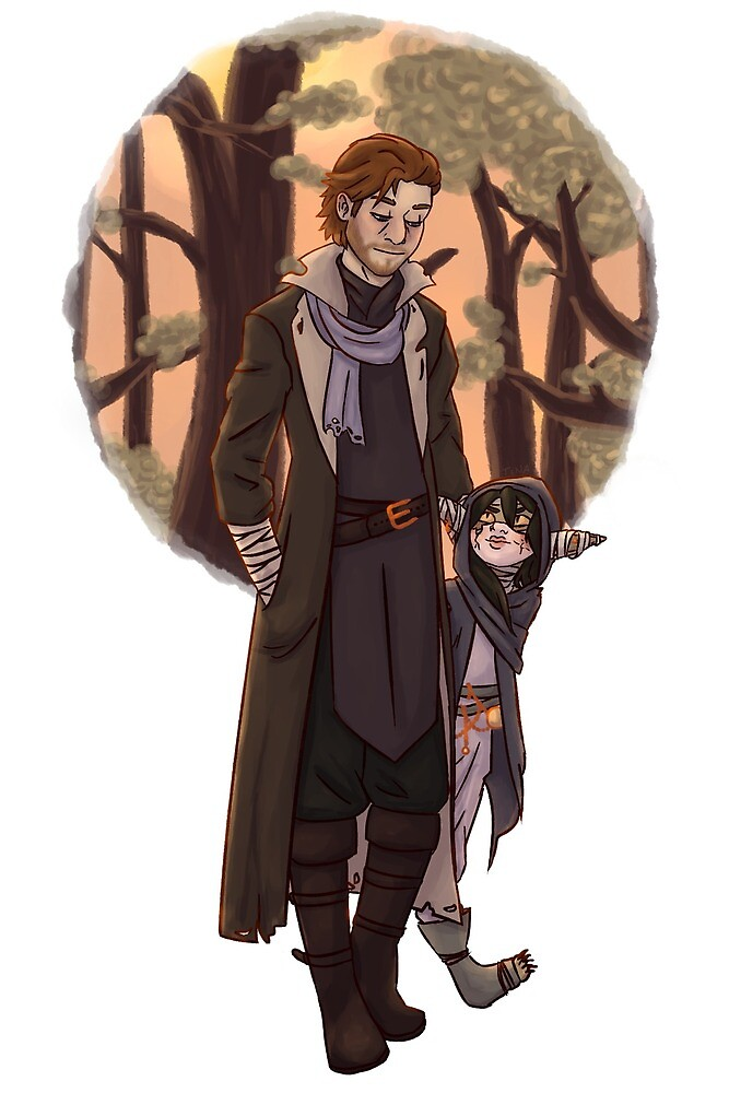 Caleb and Nott by acespacerock