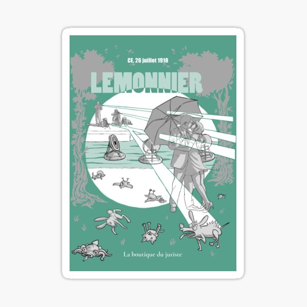 Lemonnier Sticker