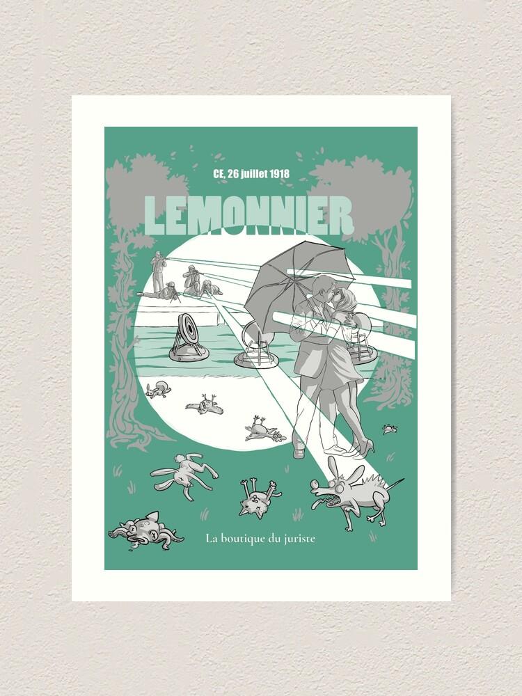 Impression artistique ''Lemonnier': autre vue
