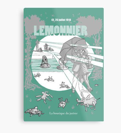 Lemonnier Impression métallique