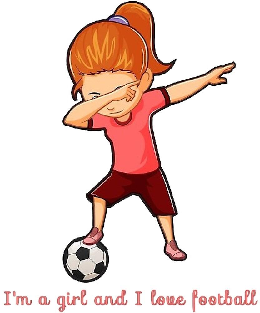 Girls love football by medflix