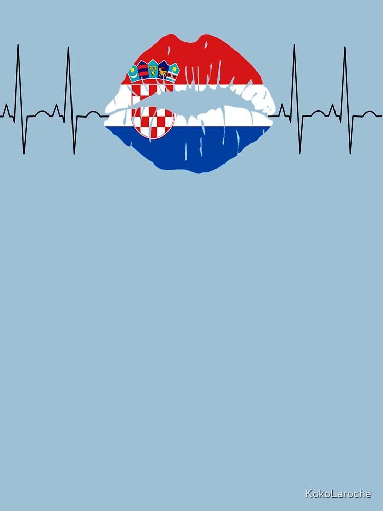Croatia 2018 ECG Kiss Football World Champions by KokoLaroche