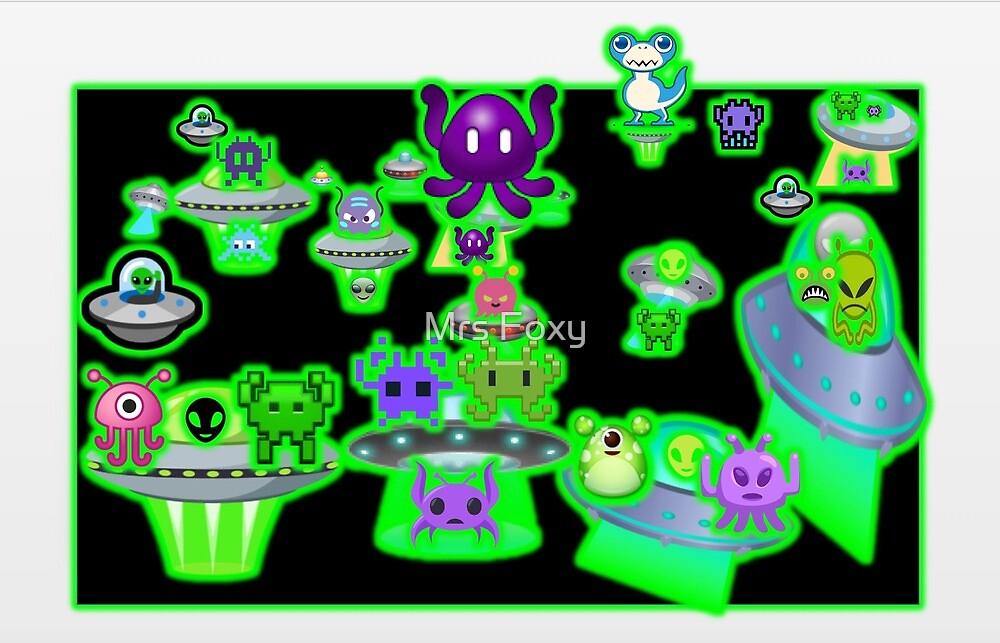 Alien Party by Mrs Foxy