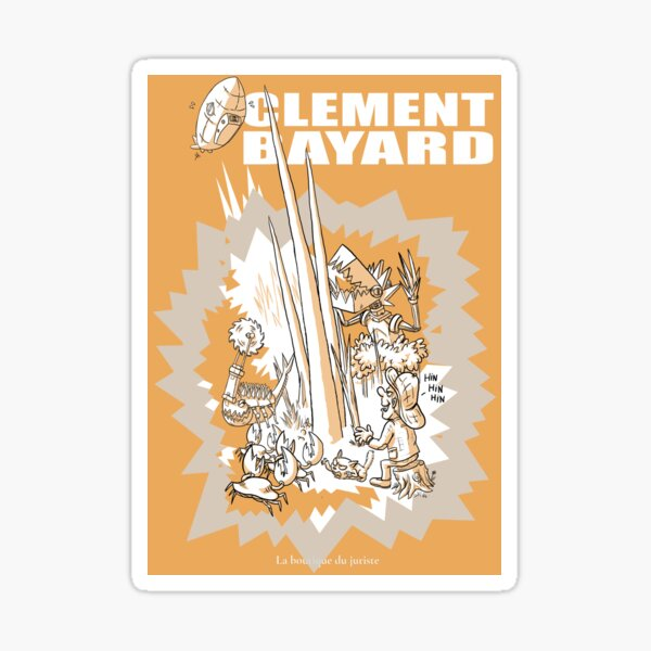 Bayard Sticker