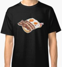 Funny Bacon and Eggs Breakfast of Champions Brunch  Classic T-Shirt