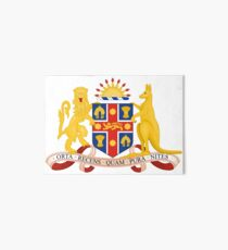 Coat of Arms of New South Wales, Australia Art Board