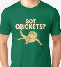 Got Crickets - Funny Reptile Gift Slim Fit T-Shirt