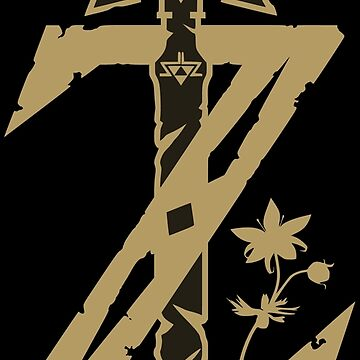 Zelda Breath of the Wild (Black) by CraigUK37
