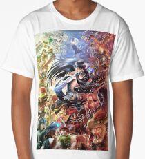 Smash 4 Bayonetta Reveal Illustration Long T-Shirt