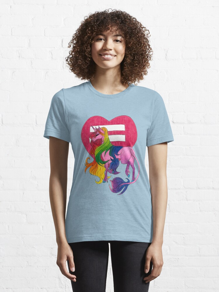 Alternate view of Pride Essential T-Shirt