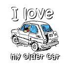I love my older car by Jorge Antunes