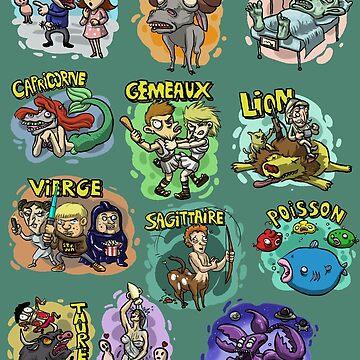 «Signes du zodiaque» par le-grom