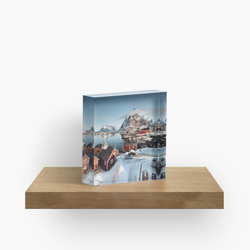 reine at lofoten Acrylic Block