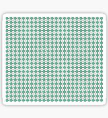 "Motif ""Petits carrés verts"" Sticker"