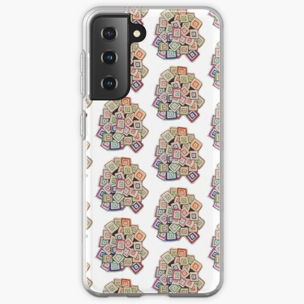 Colorful Squares Samsung Galaxy Soft Case