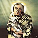 « Saint Macron » par le-grom