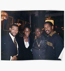 Denzel Washington, Wesley snipes, Michael Wright, Laurence fishburne Poster