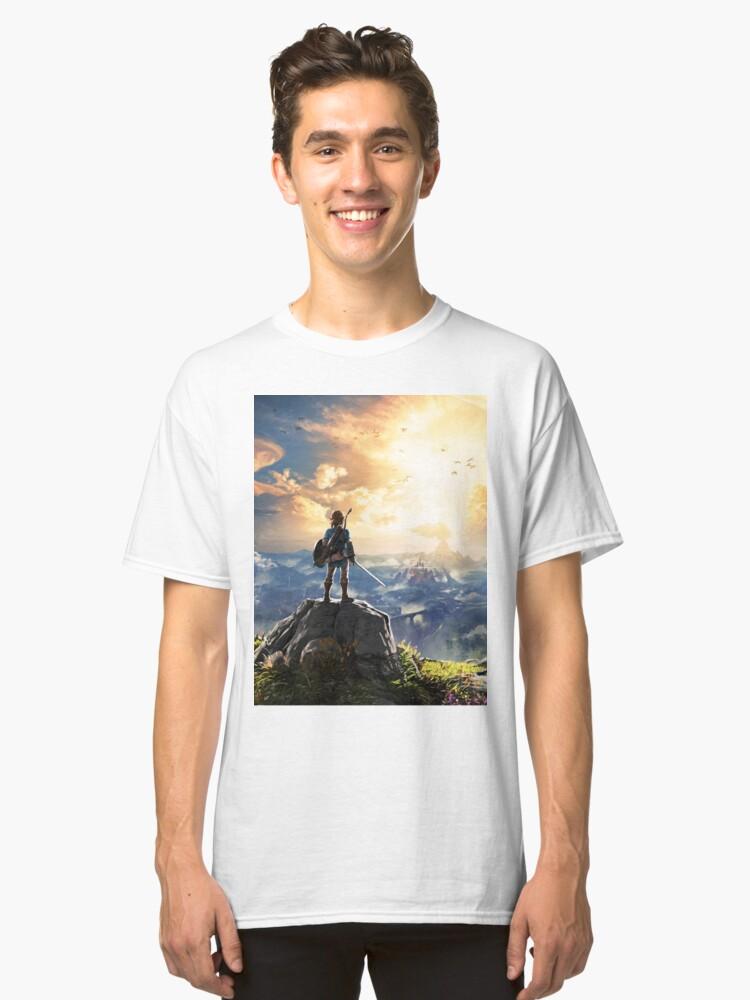 Legend of Zelda : Breath of the Wild artwork Classic T-Shirt Front