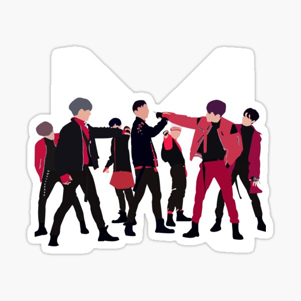 Monsta X- Dramarama Sticker
