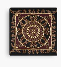 Yoga Mandala Canvas Print