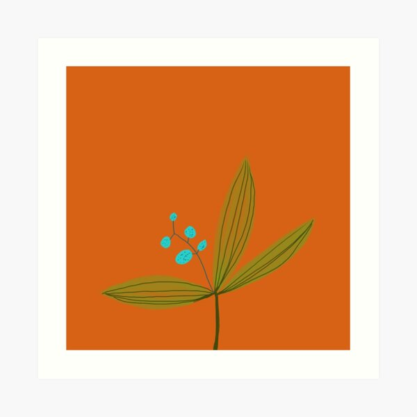 New Flower 1 Art Print