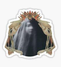 Queen of Darkness: Paper Bunnies & Light Witch  Sticker