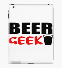 beer geek iPad Case/Skin