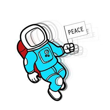 Astronaut by felipesilva