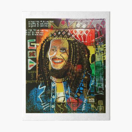Bobsquiat Art Board Print