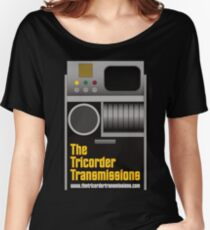 The Tricorder Transmissions Logo Women's Relaxed Fit T-Shirt