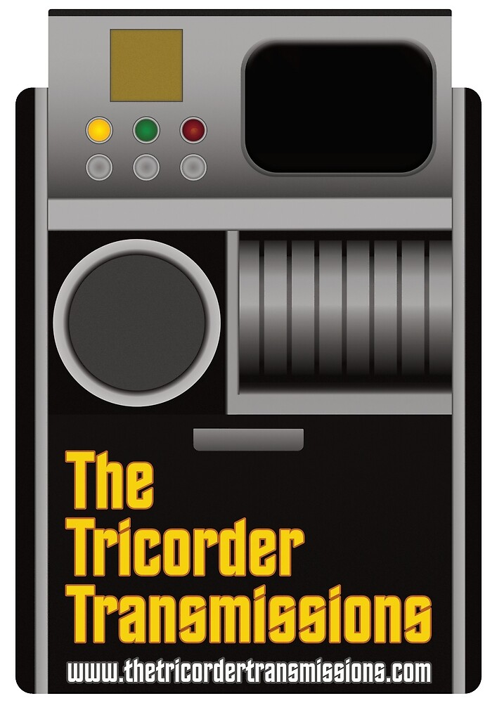 The Tricorder Transmissions Logo by ttt-pod