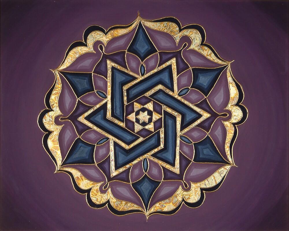 Framed Mandala Wall Art